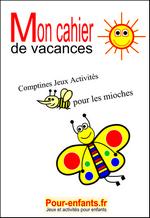 Cahier De Vacances Gratuit à Imprimer Maternelle Enfants