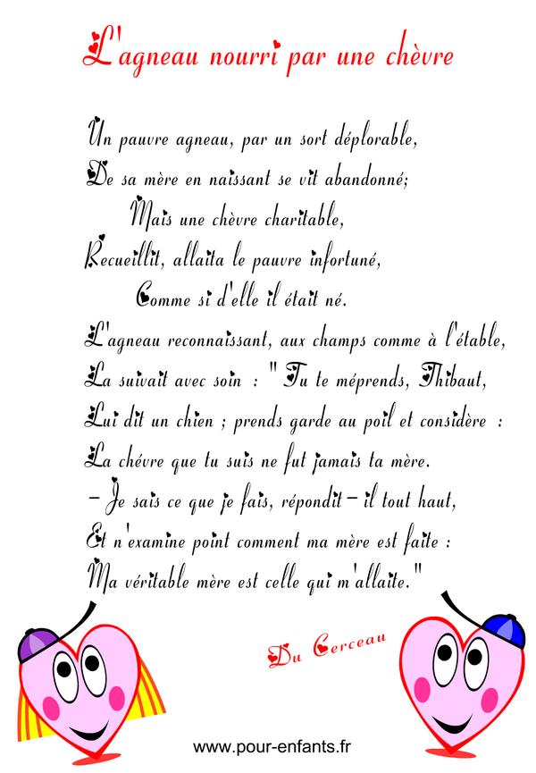 Bien connu poeme a imprimer pour maman be56 montrealeast - Poeme fete des papa a imprimer ...