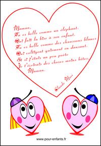 Fête Des Mères Poeme Humoristique Fete Des Meres Poèmes