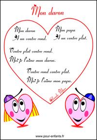 Poemes Fête Des Pères Imprimer Poèmes Humoristiques Textes