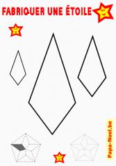 Pour jeux de no l imprimer coloriages d 39 toiles de no l activit s de noel - Gabarit etoile 5 branches ...