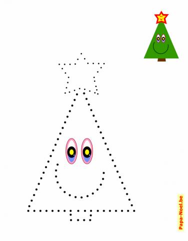 Jeux de points relier noel jeu de maternelle imprimable - Points a relier noel ...
