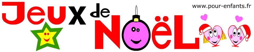 NOEL Jeux à imprimer de Noël