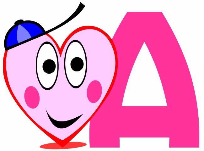 Dessin de coeur dessins en forme de coeurs coloriages carte fete images papier lettre mod les - Grande lettre alphabet a imprimer ...