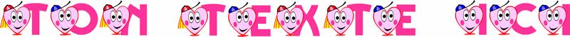 imprimer alphabet dessins de coeurs d amour