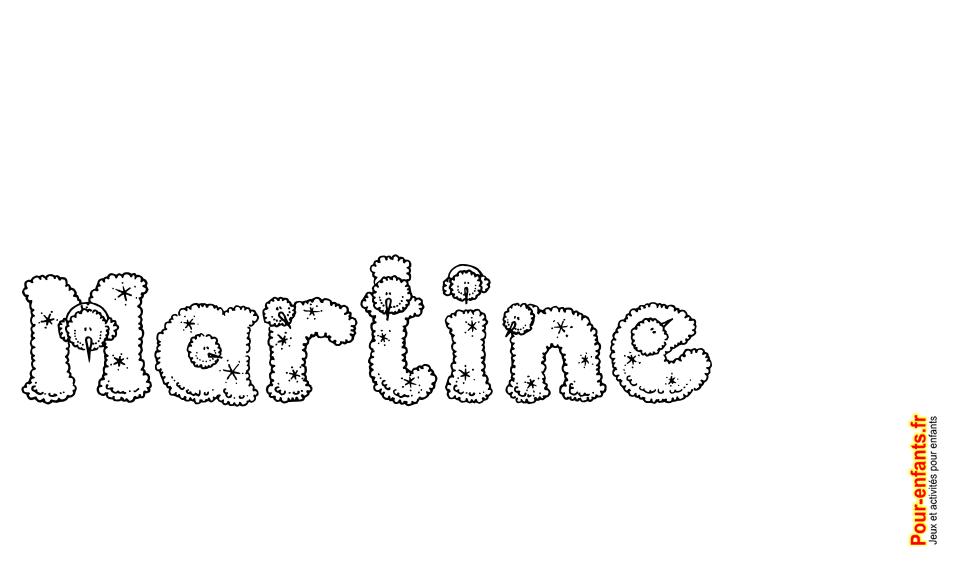 Imprimer le pr nom martine lettres de noel texte joyeux noel martine fantaisie pour faire un - Prenom a imprimer ...