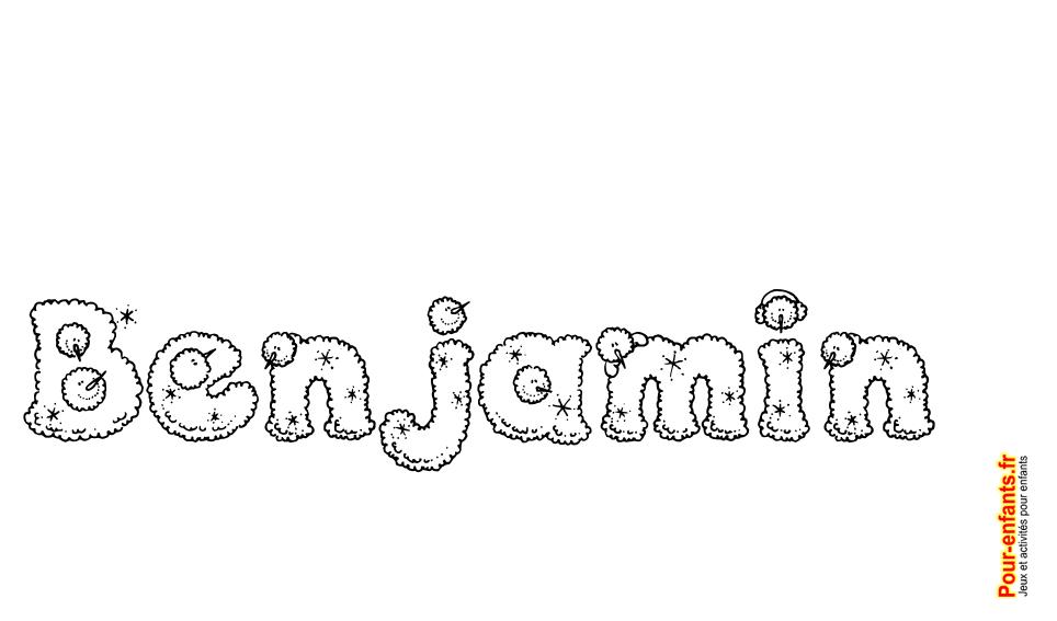 Imprimer le pr nom benjamin lettres de noel texte joyeux noel benjamin fantaisie pour faire un - Prenom a imprimer ...