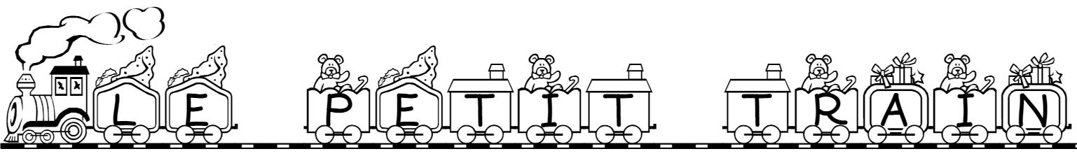 Exemples de textes imprimer coloriage de pr noms enfants - Dessin train et wagon ...