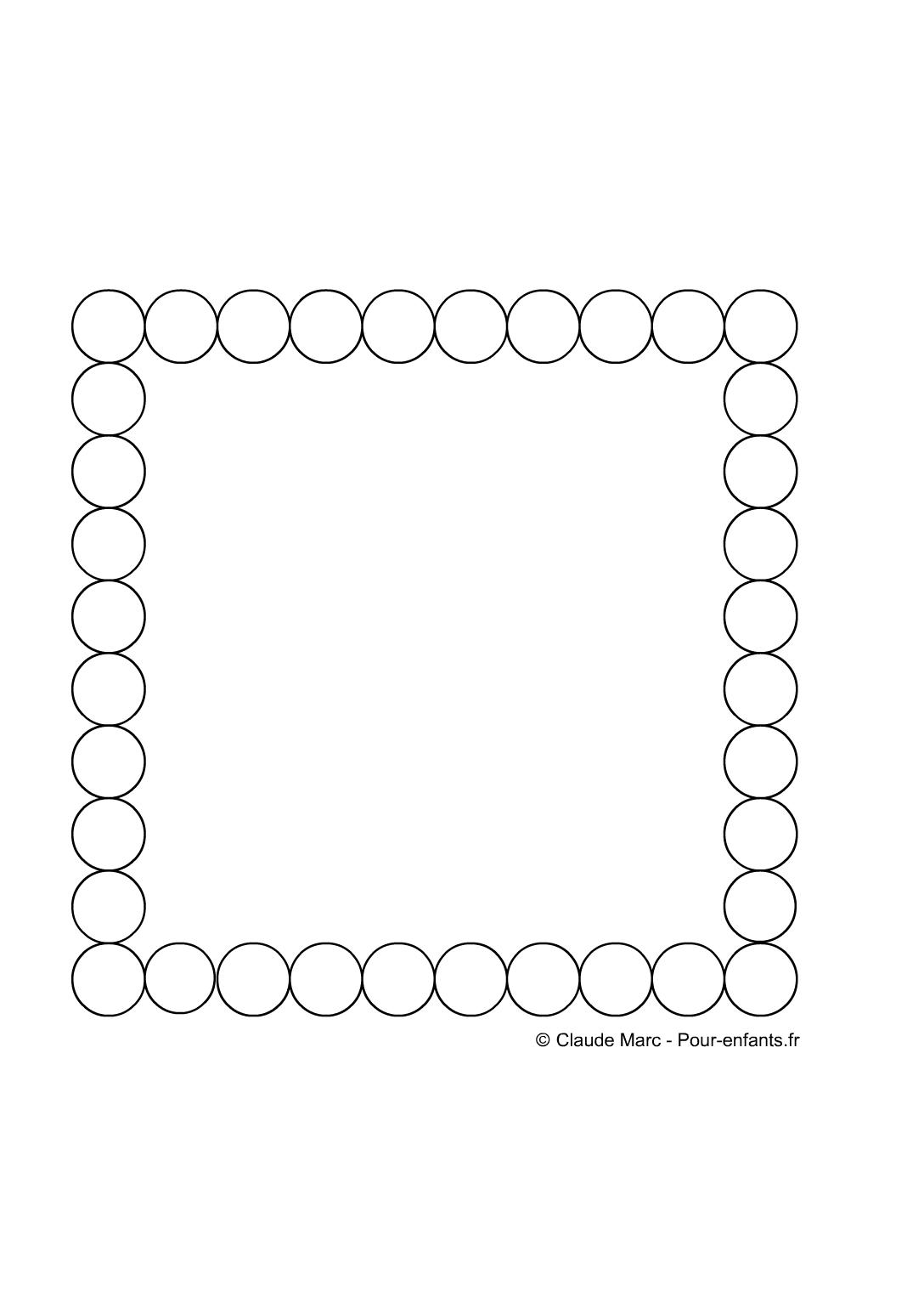 Célèbre Frise maternelle| A imprimer gratuitement fiches enfants cadre  OK08