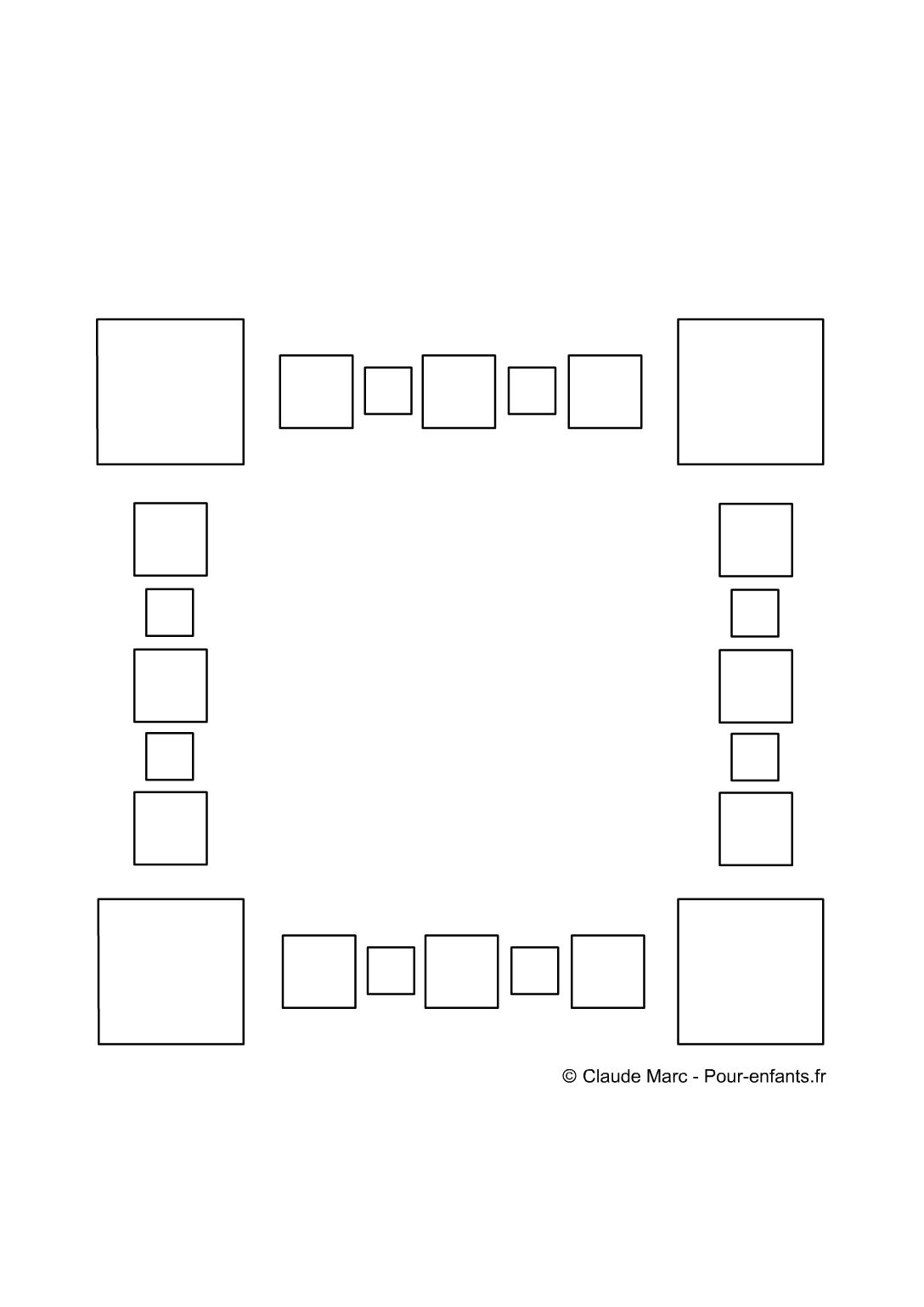 frise maternelle a imprimer gratuit fiches enfants cadre avec frises jeux geometriques. Black Bedroom Furniture Sets. Home Design Ideas
