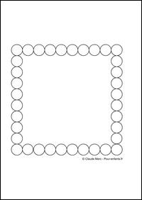 frise maternelle a imprimer gratuitement fiches enfants cadre cercles jeux frises geometriques. Black Bedroom Furniture Sets. Home Design Ideas