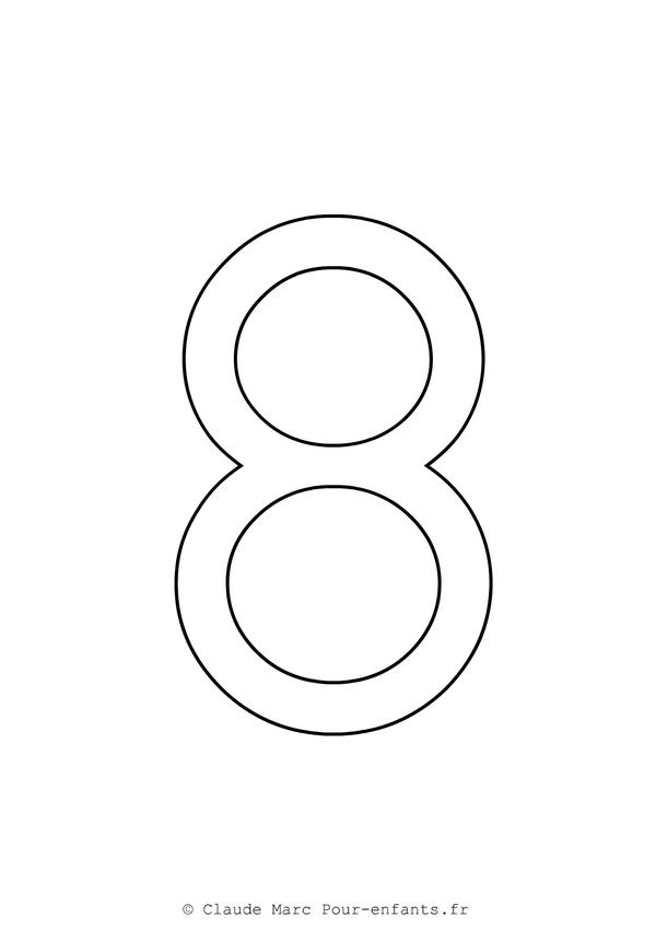 imprimer des grands chiffres en maternelle gratuit chiffre 8 cahier de coloriage criture imprimer colorier gratuitement