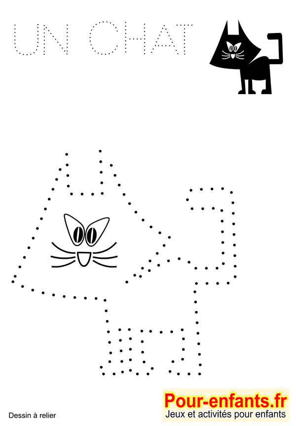 Bien connu IMPRIMER | Jeux à imprimer dessins A relier gratuitement pour  KF95