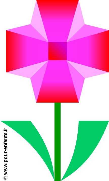 dessiner une fleur dessins coloriages de fleurs en couleur dessin de fleur apprendre dessiner. Black Bedroom Furniture Sets. Home Design Ideas