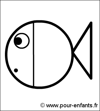 Attractive Images Facile A Dessiner #7: Dessiner-poisson-4.png