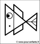 Jeux de vacances pour enfants dessiner un poisson dessins de poissons dessin de poisson - Dessiner des poissons ...