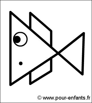 Comment dessiner un poisson apprendre faire dessins de - Dessiner un poisson facilement ...