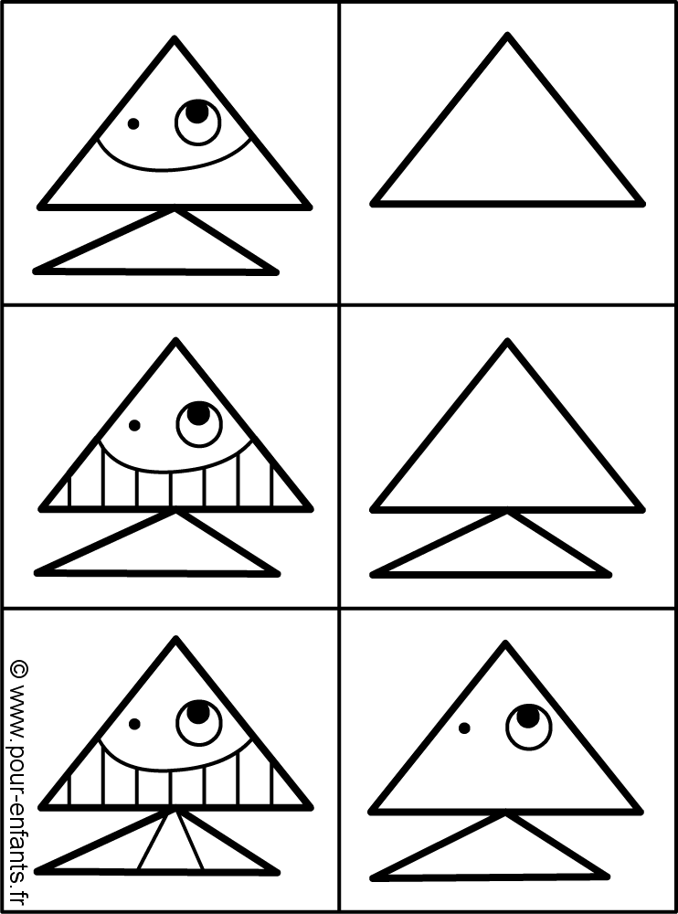 Comment dessiner un poisson dessins de poissons dessin de poisson apprendre dessiner un poisson - Dessiner des poissons ...