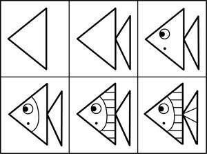 Comment dessiner un poisson dessins de poissons dessin de - Jeux pour dessiner gratuit ...