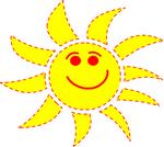 jeux vacances dessin de soleil
