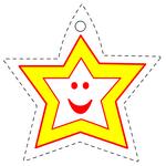 Etiquette étoile de NOEL à imprimer gratuitement etiquettes etoiles NOEL gratuit
