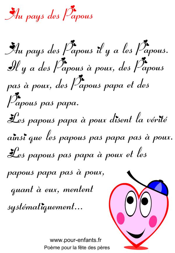 F te des p res imprimer un texte en images pour la f te des p res textes imprimer avec - Citation fete des peres ...